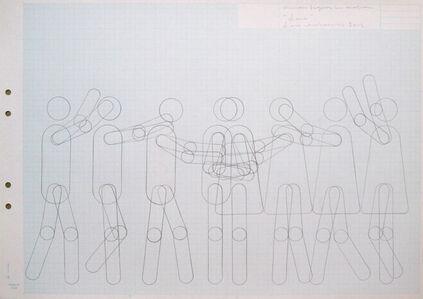 "Lars Arrhenius, 'Human figure in motion (""Love"")', 2012"