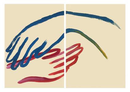 Tess Dumon, 'Tes mains sont mes ailes', 2018
