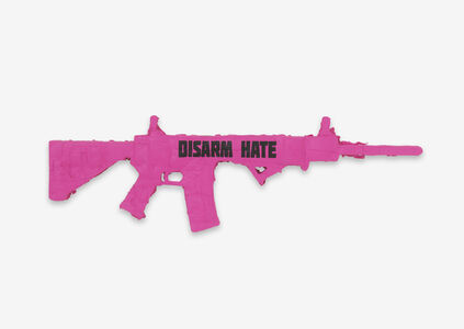Andrea Bowers, 'Disarm Hate', 2018