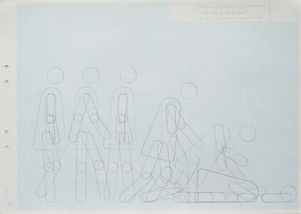 "Lars Arrhenius, 'Human figure in motion (""Falling to pieces"")', 2012"