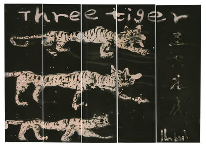 Sun Yanchu, 'Three Tigers', 2018