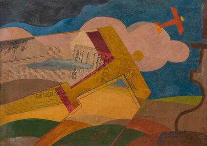 Giulio D'Anna, 'AEREI CAPRONI IN VOLO', ca. 1933-1934