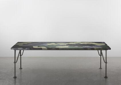 Robert Stadler, 'New Paintings 1 (Dining Table)', 2019