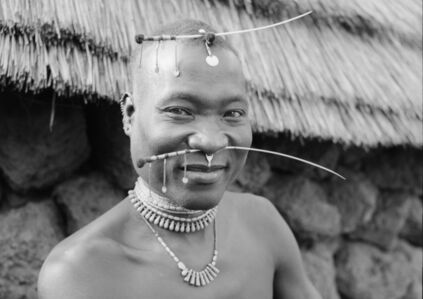 Hector Acebes, 'Basari Man, Guinea', 1953