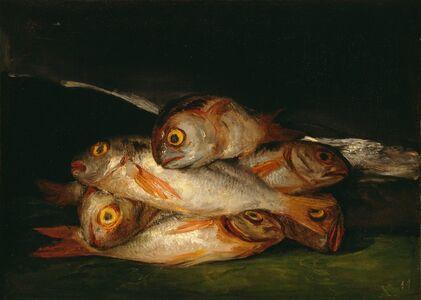 Francisco de Goya, 'Still Life with Golden Bream', 1808-1812
