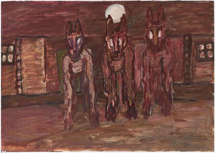 David Koloane, 'Street Dogs 10', 2005