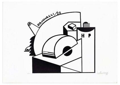 Ivo Pannaggi, 'Mechanical Composition ', ca. 1975