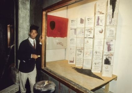 Lynn Goldsmith, 'Jean Michel Basquiat', 1985
