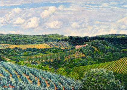 Yvonne Melchers, 'Val Cortese/Tuscan Summer', 2006