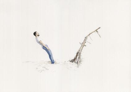 Fabien Mérelle, 'Deux branches', 2020