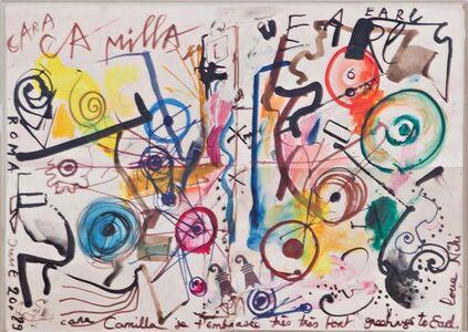 "Niki de Saint Phalle, '""Cara Camilla"",  dedicated and inscribed to Camilla and Earl McGrath', 1989"