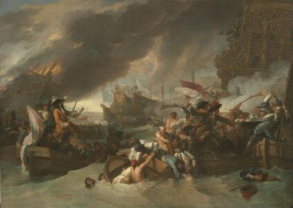 Benjamin West, 'The Battle of La Hogue', ca. 1778