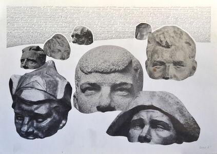 Vyacheslav Akhunov, 'Mantras of the USSR #3', 1981
