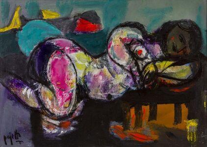 Guido Paolo Pajetta, 'Nuda, nel sonno', 1978