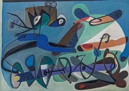 Georg Meistermann, 'Muschelbank', 1950