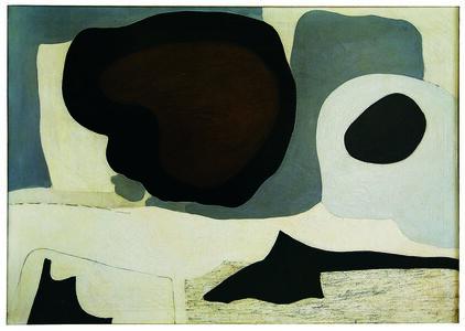 Agnes Martin, 'Mid Winter', ca. 1954
