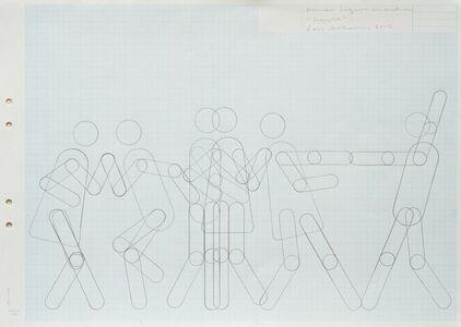 "Lars Arrhenius, 'Human figure in motion (""Hoppla"")', 2012"