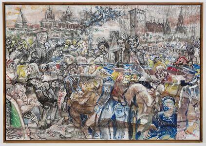 Joseph Delaney, 'Yankee Parade', 1979