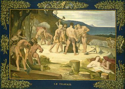 Pierre Puvis de Chavannes, 'Work', ca. 1863