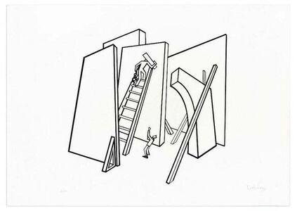 Ivo Pannaggi, 'The Builders', ca. 1975