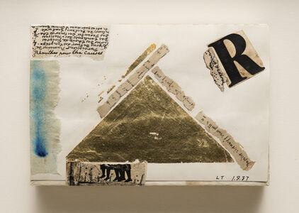 Lenore Tawney, 'Untitled (Pyramid)', 1987