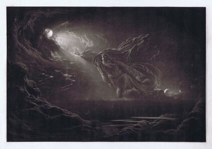 John Martin (1789-1854), 'Creation of Light ', 1824