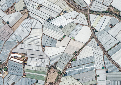 Bernhard Lang, 'Aerial Views, Mar del Plastico 01', 2014