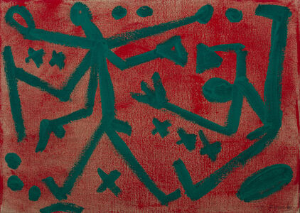 "A.R. Penck, '""Untitled""', 1987-1988"