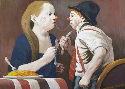 Anne Lyman Powers, '[Clown Couple]', Unknown