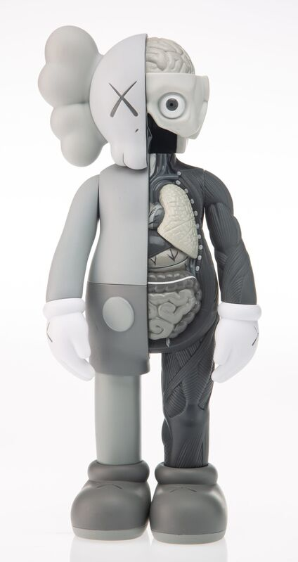 KAWS, 'Dissected Companion (Grey)', 2016, Sculpture, Painted cast vinyl, Heritage Auctions
