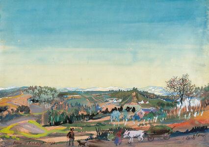 Oskar Laske, 'Eastern in Eichkögl', 1940