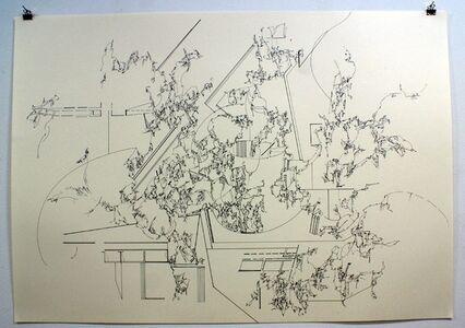 Yukari Bunya, '04. Drawing - Looking at the Scenery Alive', 2010