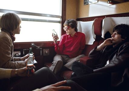 Jean-Marie Périer, 'The Beatles in the Train for Marseille, July 1965', 1965
