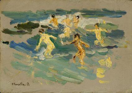 Joaquín Sorolla y Bastida, 'Beach at Valencia', ca. 1904