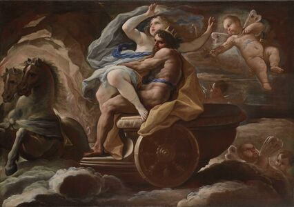 Luca Giordano, 'The Abduction of Proserpina'