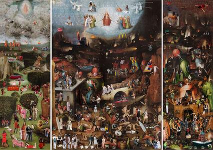 Lluis Barba, 'Last Judgment triptych Vienna. Hieronymus Bosch', 2019