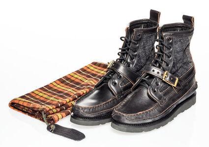 Yuketen X Vibram Maine, 'Maine Guide Boots- Black Camo'