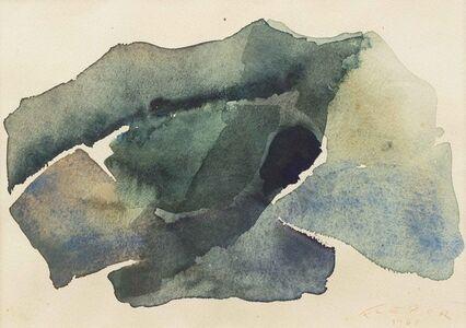 Samson Flexor, 'Composition abstraite', executed in 1968