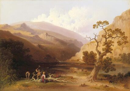 Joshua Shaw, 'The Pioneers', about 1838