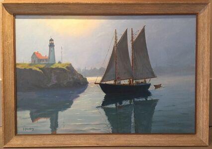 Cappy Amundsen, 'Passing the Light', ca. 1950