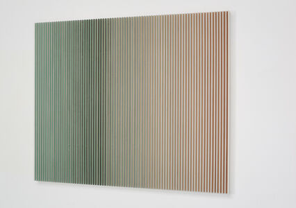 Yu Yang  于洋 (b. 1979), '融-青绿山隐 Fusion-Dark Green Mountain Landscape', 2017