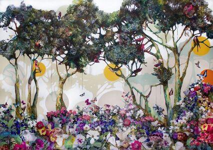 """Luis Bivar, 'Three suns / Forest""""', 2020"""