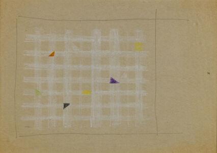 Friedrich Vordemberge-Gildewart, 'Study for Composition c. 1950 (D78)', 1950
