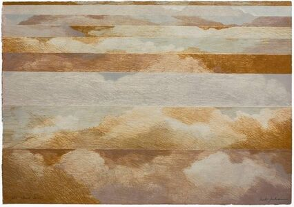 """Herb Jackson, 'Abstract """"Cloud Cover"""" 1972 Lithograph on Arches Paper', 1970-1979"""