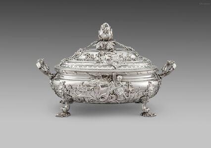 Christian Hillan, 'A George II Soup Tureen', London-1736