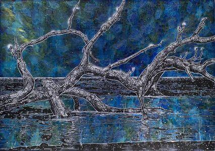 Jan Davidoff, 'Nächtliches Holz', 2018