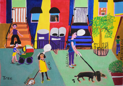 Aracelis Rivera, 'My Neighborhood', 2017