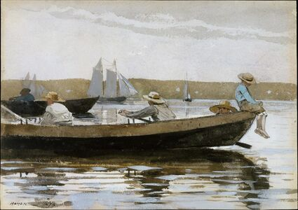 Winslow Homer, 'Boys in a Dory', 1873