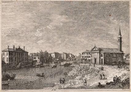Studio of Giovanni Antonio Canal, called Il Canaletto, 'Al Dolo', c. 1742