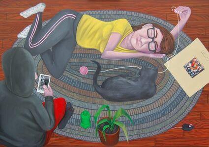 Brian Cirmo, 'Gray Hearts', 2019